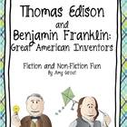 Thomas Edison and Benjamin Franklin: Great American Inventors