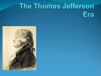Thomas Jefferson/Events of the Jefferson Administration Po