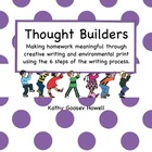 Thought Builders Making Homework Meaningful Creative Writing