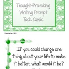 Thought-Provoking Writing Prompt Cards ~ 202 Cards!!