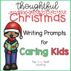 Christmas Writing Prompts for Caring Kids