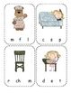 Three Bears Beginning Sounds Clip Cards