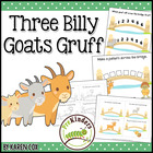 Three Billy Goats Gruff: Activity Pack {Pre-K, Preschool}