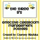 Three B&#039;s: Effective Class Management Rules