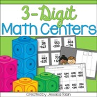 Three Digit Addition and Subtraction Centers