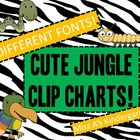 Three Jungle Clip Charts!