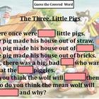 Three Little Pigs: Guess the Covered Word