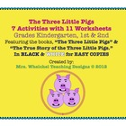 Three Little Pigs and The True Story of The 3 Little Pigs