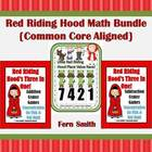 Three Little Red Riding Hood Math Centers Bundled and Comm