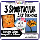 Three Spooktacular Art Lessons for Halloween