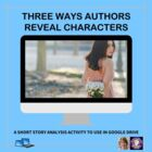 Three Ways Authors Reveal Characters