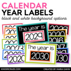 Through the Year Annual Label Cards