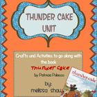Thunder Cake Book Unit