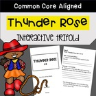 Thunder Rose Trifold Worksheet (5th Grade Reading Street 2