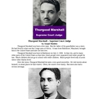 Thurgood Marshall - Supreme Court Judge