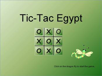 Tic-Tac-Egypt    (A Game About Ancient Egypt)