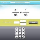 Tic Tac Math Fractions Interactive Math Game Application -