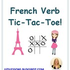Tic-Tac-Toe French Verb Game
