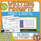 Tic-Tac-Toe Journal Prompts Choice Grids - 252 Great Prompts!