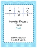 Tic-Tac-Toe Monthly Project on Soil