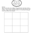 Tic Tac Toe Review Game