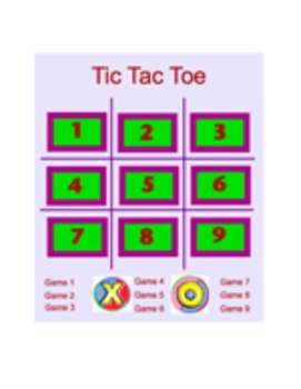 Tic Tac Toe Smart Board Game -CUSTOM VERSION