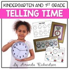 Tick Tock {Common Core and TEK hour and half-hour time unit}
