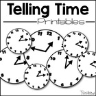 Tick Tock Telling Time (NO PREP) Printable Package