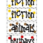 Tickled 2 Teach Classroom Book Basket Labels
