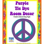 Tie Dye Classroom Mega Decor Pack