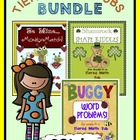 Tiered Math Tubs Bundle Set 4