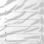 Tiger Acrostic or Name Poem Template