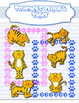 Tiger Clipart and paw borders