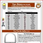 Tiger Rising Text Message Comprehension Activity Common Core