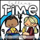 Time After Time {Telling Time to the Hour &amp; Half Hour}