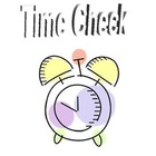 Time Check Post Its
