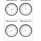 Time Exit Tickets