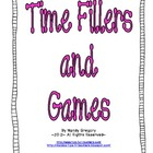 Time Fillers and Games