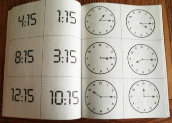 Time - La Hora Spanish and English Thematic Unit and Lesson Plans