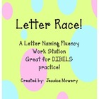Time Me!  Letter Naming Fluency Station