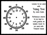 Time Pack: Intro, Twizzler Clocks and Journal Reference Page