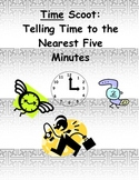 Time Scoot:  Telling Time to the Nearest Five Minutes