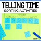 Time Sorts - Half Past, Quarter After, and Quarter Till