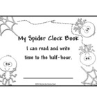 Time: Spiders Time booklet to the Half Hour Book 2