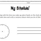 Time &amp; Writing Activity!