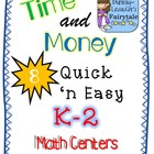 Time and Money Math Centers Aligned to Common Core
