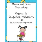 Time and Money Vocabulary Pack