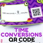 Time in Space Conversions QR Code Fun