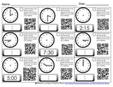 Time to 15 Minutes with QR Codes