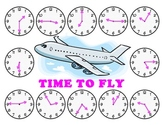Time to Fly - A Game to Practice Telling Time to the Neare
